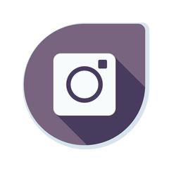 Photo Camera button illustration