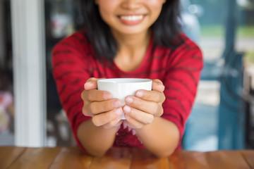 Women's Hand Coffee Cup