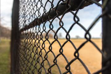 Blurry fence