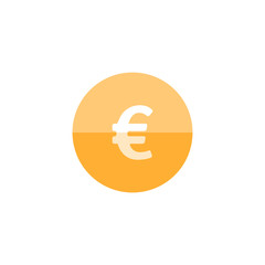 Circle icon - Euro symbol