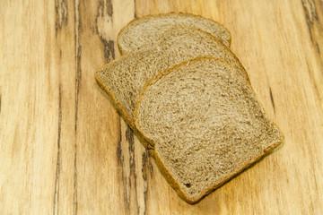 Frisches Braunes Toastbrot