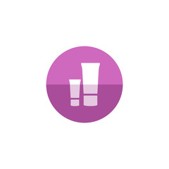 Circle icon - Lotion tube