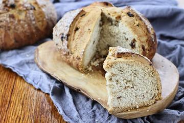 Slice of Irish soda bread