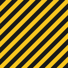 Hazard stripes texture. Industrial striped road, construction crime warning. Vector illustration