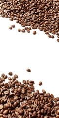 Photo sur Toile Café en grains Frame of coffee beans