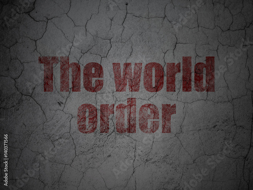 concept of world order World order essay on discussing the concept of world order and outlining the evolving nature of world order completed to a high degree succinct and to the point.