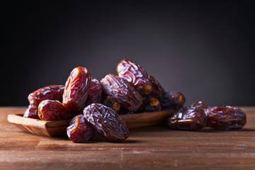 juicy ripe dates