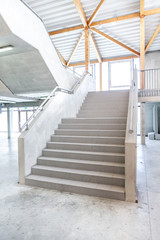 Stairway in building