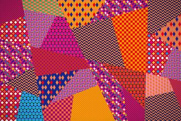 パターン 背景 パッチワーク
