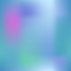 Colorful gradient mesh with dark pink, blue and green. Bright colored square vector background.