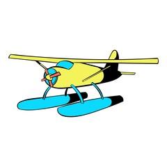 Hydroplane icon, icon cartoon