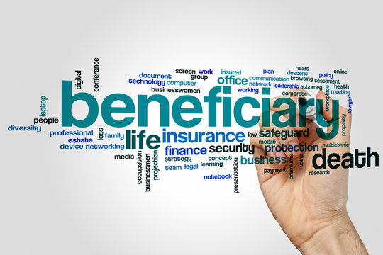 Beneficiary word cloud