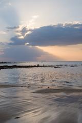 Sunset on the beach in Koh Lanta, Thailand