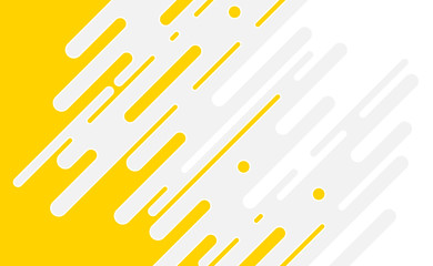Modern style abstract background yellow, gray and white colors. Trendy geometric abstract design.