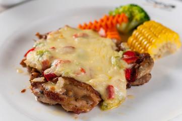Chicken Steak with cheese