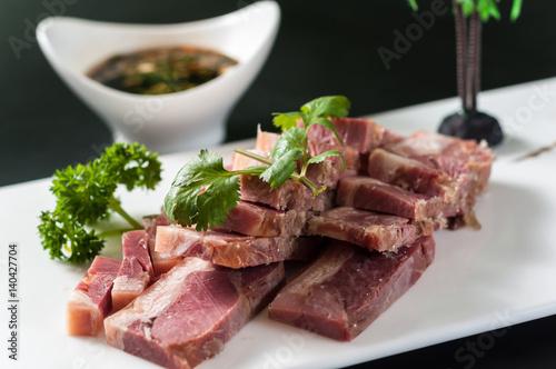 Zhenjiang pork aspic