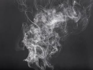 Abstract smoke close up