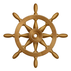 Icon of Ship Wheel