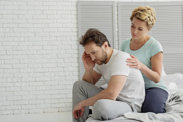 Middle-aged husband suffering from sexual disorder