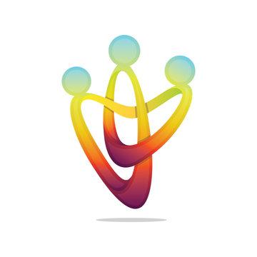 3d Modern 'Community' Icon