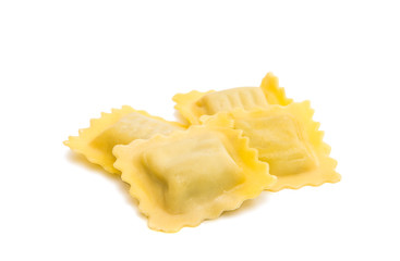 Ravioli isolated