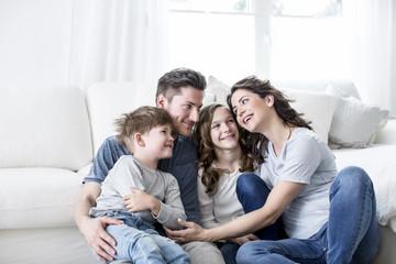 Familie Zeit zusammen