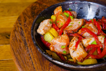 Fried meat pieces - spanish tapas