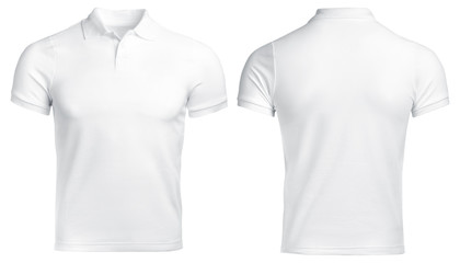 white Polo shirt, clothes