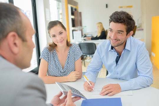 dealing with a loan officer