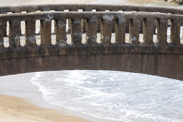 stone bridge,biarritz