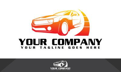 Car logo, automotive logo, logo template