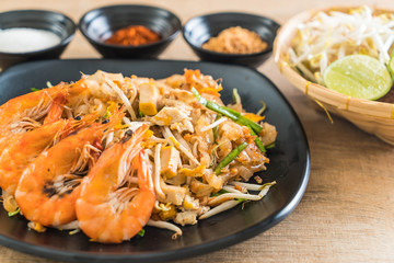 """Thai Fried Noodles """"Pad Thai"""" with shrimps"""