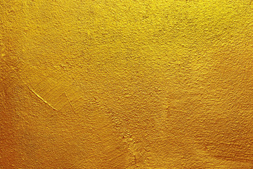 gold cement and concrete texture for background and design