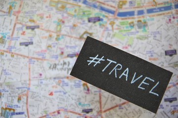 Travel - handwritten. Maps