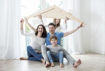 Hausbau Familie Wohnen