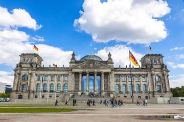 Reichstag (Bundestag) building in Berlin, Germany