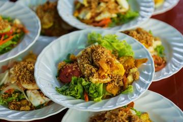 Islam tofu salad