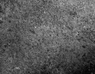 Rusty old black and white metal texture.
