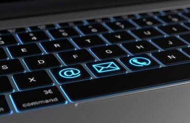 Tastatur Kontakt Symbole