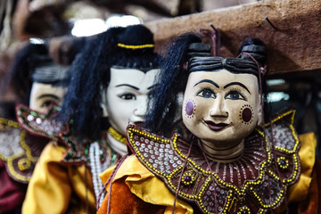 Myanmar - Burma - Marionettenbauer in Mandalay