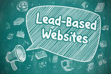 Lead-Based Websites - Business Concept.