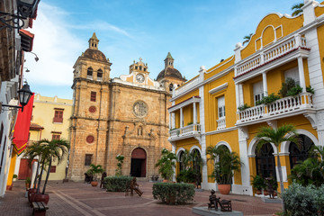 Fototapete - Beautiful Cartagena, Colombia