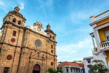 Fototapete - Church and Beautiful Sky