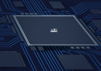 Circuit board vector background. Eps10 Vector illustration.
