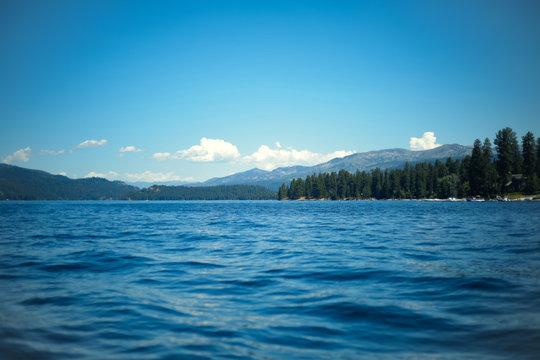 Summer Lake in Idaho