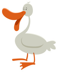 goose farm animal character