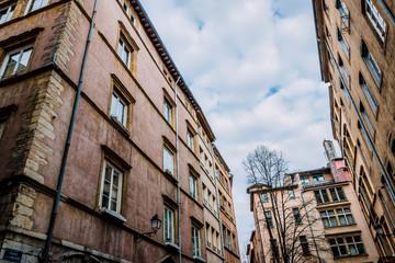 Dans les rues du Vieux lyon