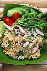 Crab Fried Rice for health