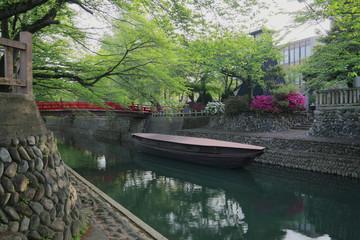 Bridge at Sumiyoshi Lighthouse