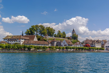 Fototapete - View of Rapperswil, Switzerland